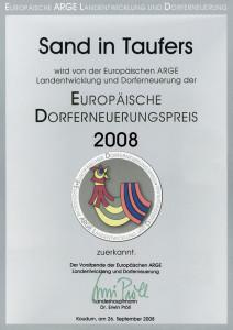 Europ. Dorferneuerungspreis